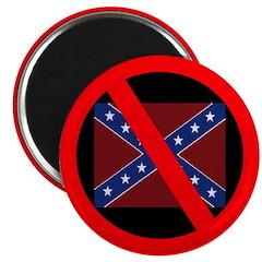 Anti-Confederate Flag Magnet