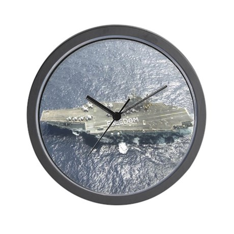 USS Kitty Hawk CV63 Wall Clock US Navy Gift