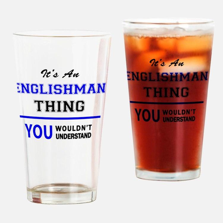 Cute Englishman Drinking Glass