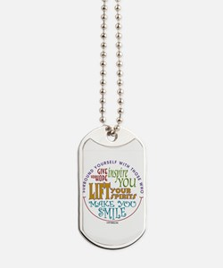 Surround Yourself Dog Tags