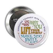 "Surround Yourself 2.25"" Button"