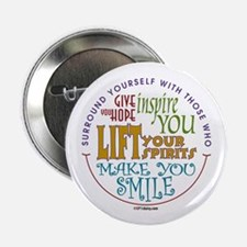 "Surround Yourself 2.25"" Button (100 pack)"