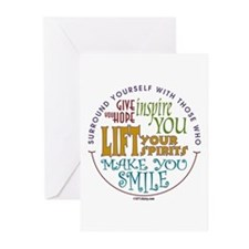 Surround Yourself Greeting Cards (Pk of 10)