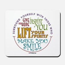 Surround Yourself Mousepad
