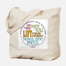 Surround Yourself Tote Bag