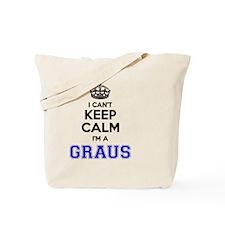 Funny Grau Tote Bag