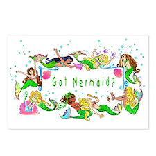 Got mermaid? Postcards (Package of 8)
