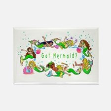 Got mermaid? Rectangle Magnet