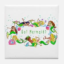 Got mermaid? Tile Coaster