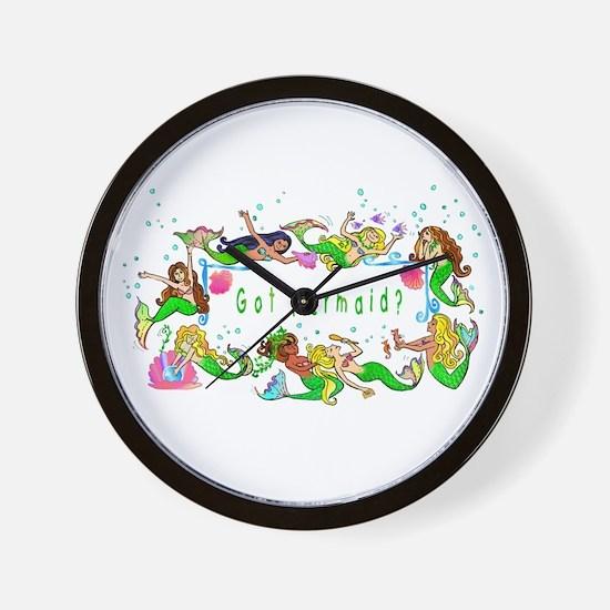 Got mermaid? Wall Clock