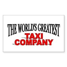 """""""The World's Greatest Taxi Company"""" Decal"""