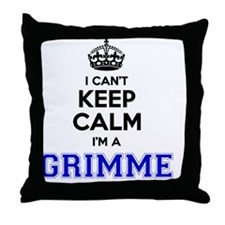 Funny Grimm Throw Pillow