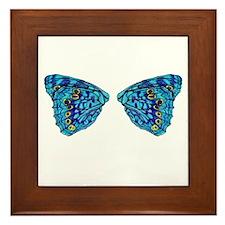 Hackberry Butterfly Framed Tile