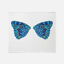 Hackberry Butterfly Throw Blanket