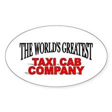 """""""The World's Greatest Taxi Cab Company"""" Decal"""