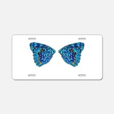 Hackberry Butterfly Aluminum License Plate