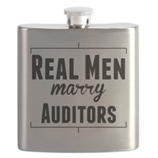Real Men Marry Auditors Flask