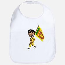 Sri Lanka Boy Bib