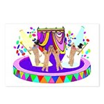 SOFT COATED WHEATEN TERRIER CIRCUS Postcards (Pack