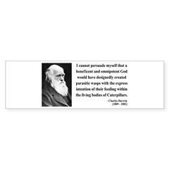Charles Darwin 3 Bumper Bumper Sticker