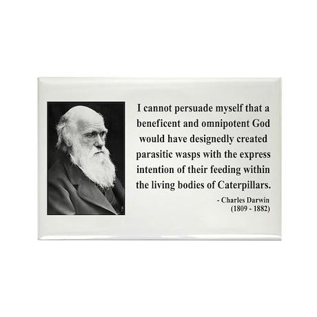 Charles Darwin 3 Rectangle Magnet