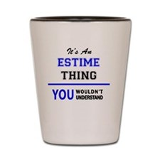 Cute Estimator Shot Glass