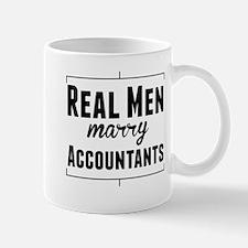 Real Men Marry Accountants Mugs
