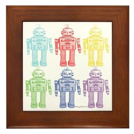 Robots Framed Tile