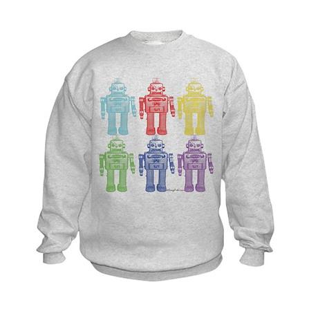 Robots Kids Sweatshirt