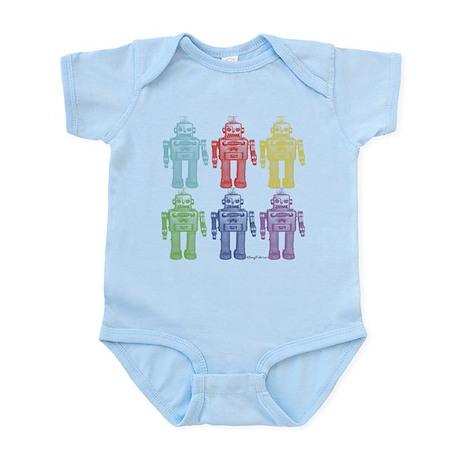 Robots Infant Bodysuit