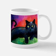 black cat 4 Mug