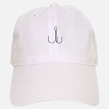 Treble Fishing Hook Baseball Baseball Baseball Cap