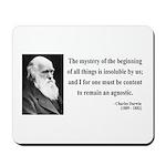 Charles Darwin 7 Mousepad