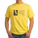 Charles Darwin 7 Yellow T-Shirt