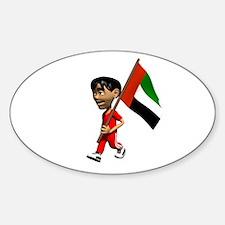 UAE Boy Oval Decal