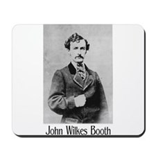 John Wilkes Booth Mousepad