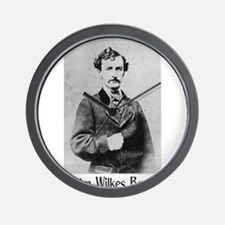 John Wilkes Booth Wall Clock