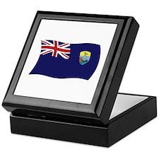 Saint Helena Flag Keepsake Box