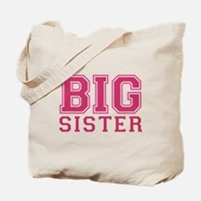 big sister varsity Tote Bag