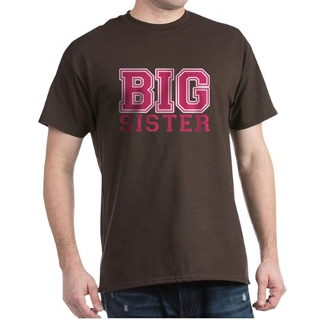 ADULT SIZES big sister varsity Dark T-Shirt