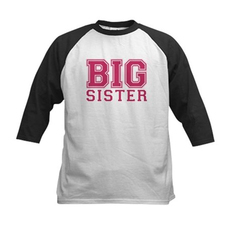 big sister varsity Kids Baseball Jersey