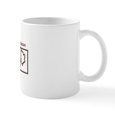 PUSH BUTTON GET BACON Mug
