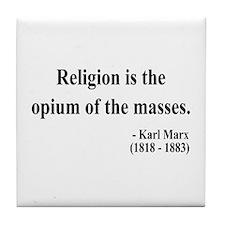 Karl Marx 1 Tile Coaster