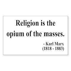 Karl Marx 1 Rectangle Sticker
