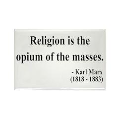 Karl Marx 1 Rectangle Magnet (10 pack)