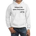 Karl Marx 1 Hooded Sweatshirt