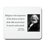 Karl Marx 2 Mousepad