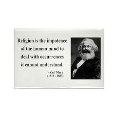 Karl Marx 2 Rectangle Magnet