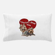 Cute Yorkshire terrier Pillow Case