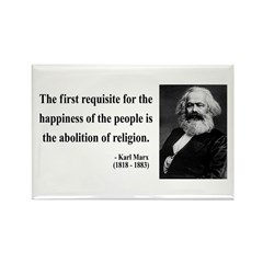 Karl Marx 3 Rectangle Magnet (10 pack)